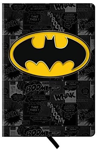 Spoontiques 19044 Journal, 8-inch Height (Batman Logo)