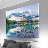 Atemberaubendes XXL Bild auf Leinwand, 150x100cm großes