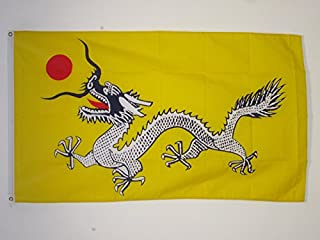 AZ FLAG Chinese Dragon Flag 3' x 5' - Dragons of China Flags 90 x 150 cm - Banner 3x5 ft