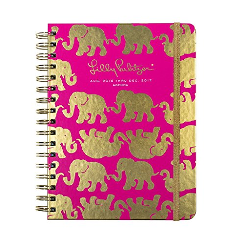 Lilly Pulitzer 2017 Daily Agenda Planner, Large, Tusk in Sun