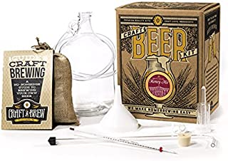 Craft a Brew White House Honey Ale Brew, Reusable Make Your Own Beer Kit, 1 Gallon