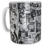 Los Eventos de la Tata Tazas Grandes del Rock Kurt Cobain OZZY Osboune Prince Elvis Kiss David Bowie Aerosmith Johny Cash