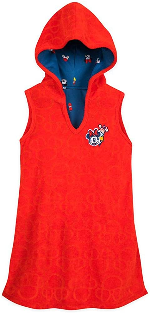 Disney Minnie Mouse Red Cover-Up for Girls
