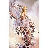 SODIAL 5D Fairy Butterfly Rhinestone Pintura Decoracion para el hogar Hada de pintura de...