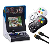 NEOGEO Mini Console: International Edition plus 2 x NEOGEO Mini Controllers and HDMI Cable Bundle...