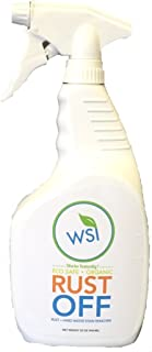 Wash Safe Industries WS-RO-32 Clear Rust Off Rust and Hard Water Stain Remover, 32 oz. Spray Bottle
