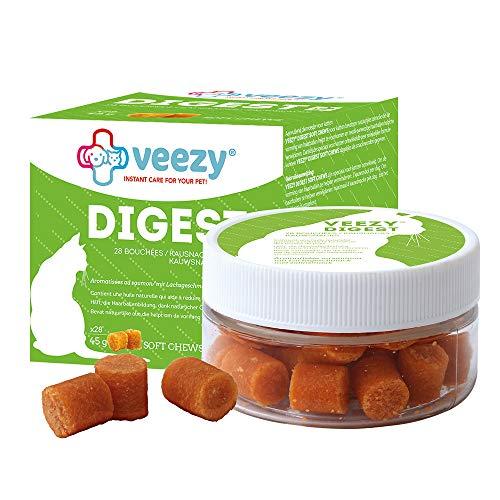 veezy Digest Kausnacks Hairball Reduzierung Haarballen, 1er Pack (28 Stück)