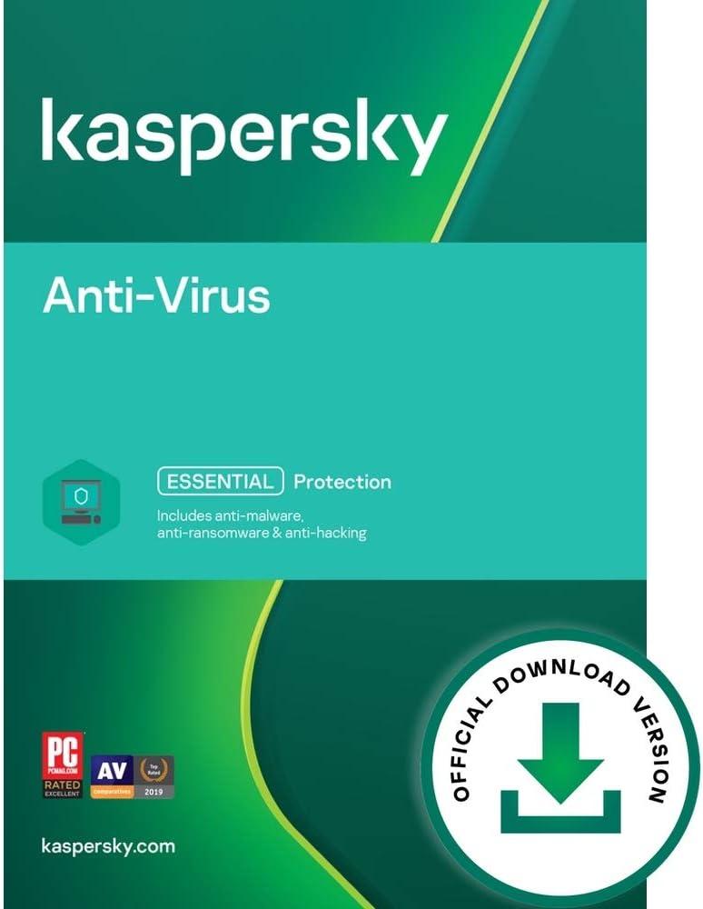 Kaspersky [Alternative dealer] Anti-Virus 2021 1 Device Year Direct stock discount PC Code Online