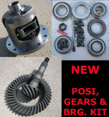 GM Chevy 8.5' Chevy 10-Bolt Rearend Posi - 30 Spline, Gear, Bearing Kit Package - 3.73 Ratio
