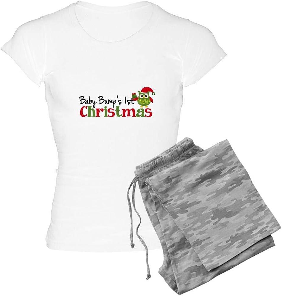 CafePress Baby cheap Bump's 1st Owl Christmas Seasonal Wrap Introduction PJs Women's