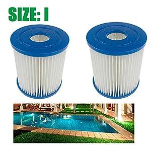 Panthem Summer Waves Pool Filtro de papel tipo I para piscina 2 unidades.