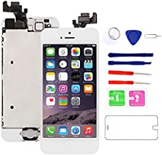 for iPhone 5 Screen Replacement White, 4.0