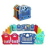 CCLIFE Parque infantil bebe Plástico para Bebés para Niños Corralito Bebe centro de actividades de seguridad centro...