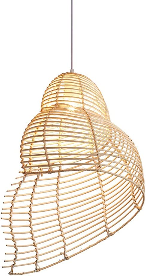 LIWENGZ Japanese Style Garden Rattan Bamboo Sales results No. 1 Simple Co Chandelier Genuine Free Shipping