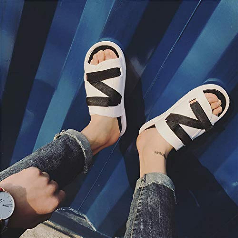 Shukun Herrensandalen Summer Couple Sandals Men's Fashion Slippers schuhe Student Beach schuhe