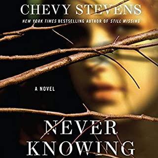 Never Knowing audiobook cover art