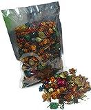 MERCAVIP Thermovip Popurrí perfumado de Flores secas Naranja. Formato económico Bolsa de 150gr.