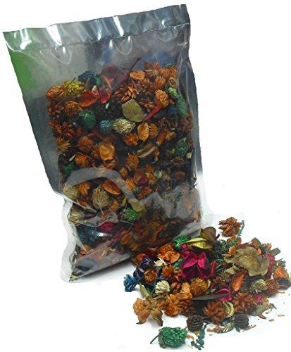 MERCAVIP Thermovip Popurrí perfumado de Flores secas Naranja. Formato económico Bolsa de...