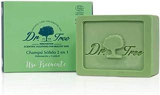 Dr. Tree Uso Frecuente 2 en 1 - Champú Sólido + Acondicionador Ecológico Hidrata y Rejuvenece Todo tipo de Cabellos Cha...