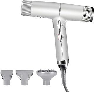 Secador 1400W Inteligente Profesional iónico del pelo con difusor, Secador de pelo de las mujeres, Concentrador adjuntos magnéticos, ligero secadores de pelo con el sensor de pelos rectos rizados huan