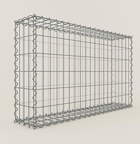 ANBAU-GABIONE Typ4 Steinkorb 100 x 70 x 50 cm Gabionen Maschenweite 5 x 5 cm