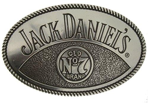 Jack Daniel's Officially Licensed Gürtelschnalle in einer meiner Präsentationsschachteln.