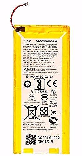 Batería original para Motorola Moto G5 Plus / XT1685 / XT1677 / XT1681 | HG40 | 2810mAh