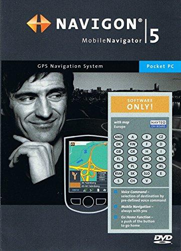 NAVIGON 5,2 Mobile Navigator für Pocket PC