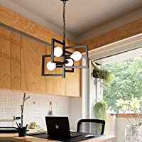 YISUNF ペンダントライト 高級感漂う ペンダントライト、リビングルームレストラン白熱用のランプをぶら下げレトロパーソナリティシャンデリアクリエイティブシンプル、天井のランプ北欧ベッドルームE27フィクスチャ