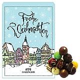 Hallingers Pralinen-Adventskalender - Prächtige Altstadt (Advents-Karton)