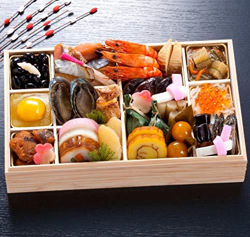 京都 しょうざん 冷蔵おせち料理 2021 一段重 鷹ヶ峰 30品 盛り付け済み 冷蔵おせち 約2人前 お届け日:12月31日