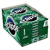 ECLIPSE Spearmint Sugar Free Gum, 18 Pieces (8 Pack)