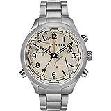 Timex The Waterbury Reloj de Hombre Cuarzo 43mm Correa de Acero TW2R43400