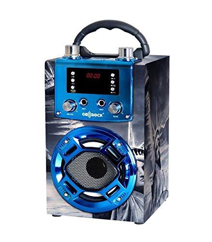 Altavoz GO-ROCK GR-WSK121 función Karaoke EEUU