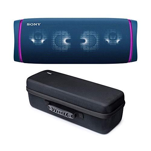 Sony SRSXB43 Extra Bass Bluetooth-Lautsprecher, kabellos, tragbar, mit Knox Gear...