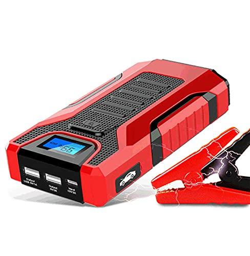 Unidades de carga de la batería de la batería del automóvil del salto del automóvil LED, 2 USB Multifunción Powerbank Power Bank Alete Booster Dispositivo de arranqu