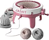 Knitting Machine, Smart Weaving Loom Knitting Round Loom, Knitting Board Rotating Double Knit Loom Machine, 40 Needles Knitting Loom Machines Weaving Loom Kit for Kids and Adults