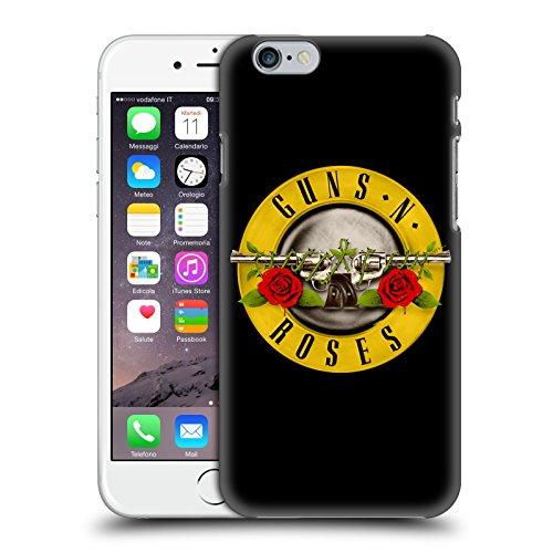 Head Case Designs Licenza Ufficiale Guns N' Roses Logo Pallottole Arte Chiave Cover Dura per Parte Posteriore Compatibile con Apple iPhone 6 / iPhone 6s