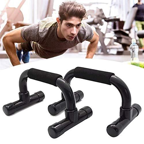 WYJW Push-Up-stangen, ergonomische push-up-standaard, push-up-standaard, gevoerde handgrepen, draagbaar voor thuis, op vloertraining
