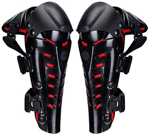 Wzmdd professionele kniebeschermers kniebeschermer kniebeschermer zwart verstelbare lange been pak motorfiets mountainbike anti-slip bescherming cover -1 paar voor herstel Gym sport basketbal hardlopen