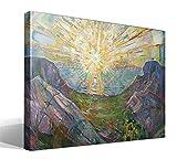 Cuadro Canvas El Sol Versión 2 de Edvard Munch