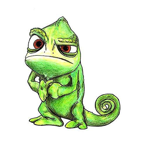 13 cm x 11,1 cm voor prachtige chameleon-stickers met fijne stickers, geschikt voor Van Rv graffiti-stickers