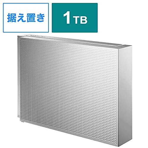 IODATA HDCZ-UT1WC USB3.1 Gen 1 (USB 3.0) / 2.0対応 外付ハードディスク 1TB ホワイト