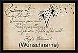 Crealuxe Fussmatte Herzlich Willkommen bei mit Wunschname (nach dem Kauf angeben) 76 - Fussmatte Bedruckt Türmatte Innenmatte Schmutzmatte lustige Motivfussmatte