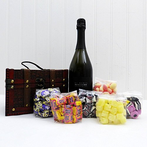 Retro Sweets & Prosecco Delights - Gift Ideas for Valentines, Mother's Day, Birthday, Anniversary, Business, Corporate and Congratulations Presents