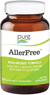 Sponsored Ad - Pure Essence Labs AllerFree Enzymes for Allergies - 60 Vegetarian Capsules