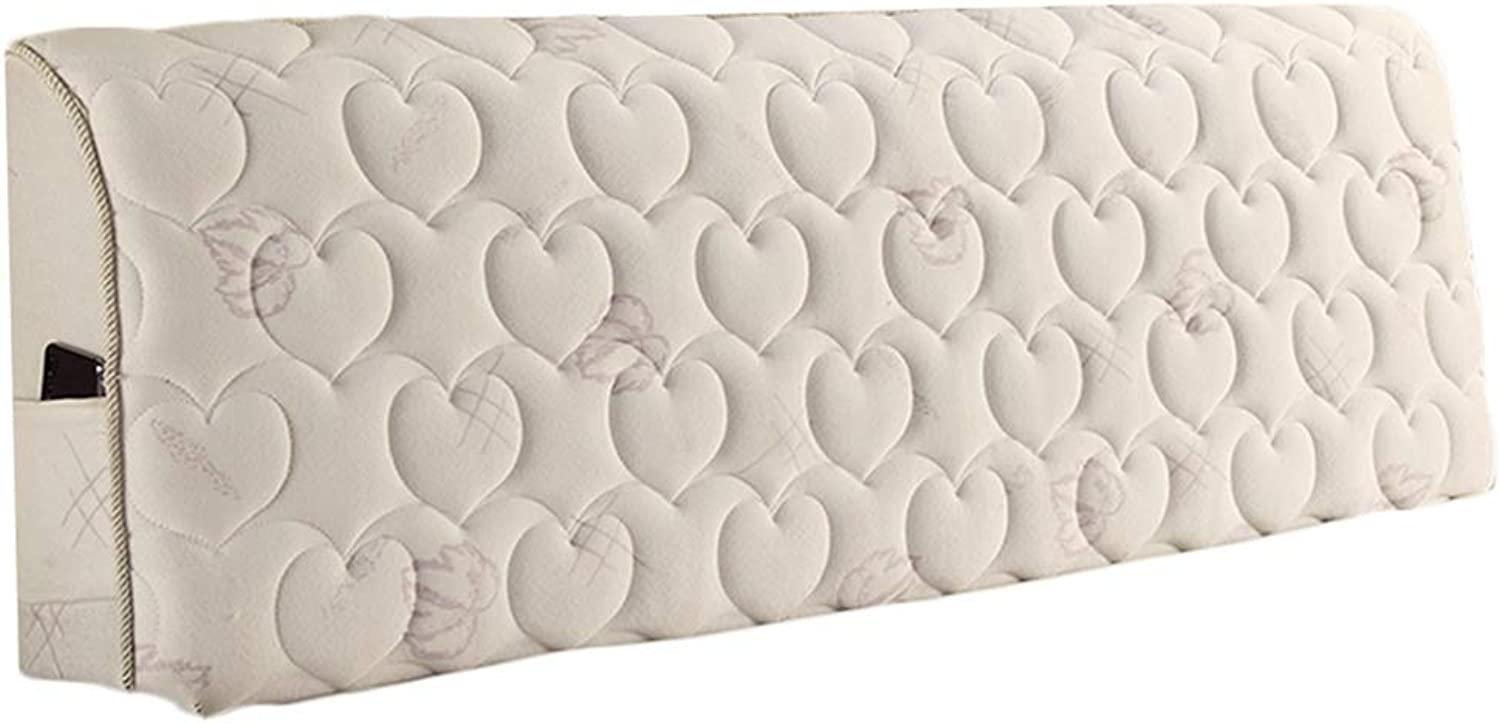 WENZHE Headboard Cover Cloth Home Bedroom Bedside Decoration Washable, 4 colors (color   A, Size   180x60cm)