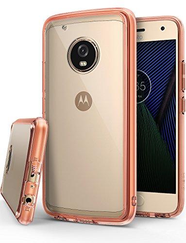 Ringke Funda para Motorola Moto G5 Plus, [Fusion] Protector de TPU con Parte Posterior Transparente de PC…
