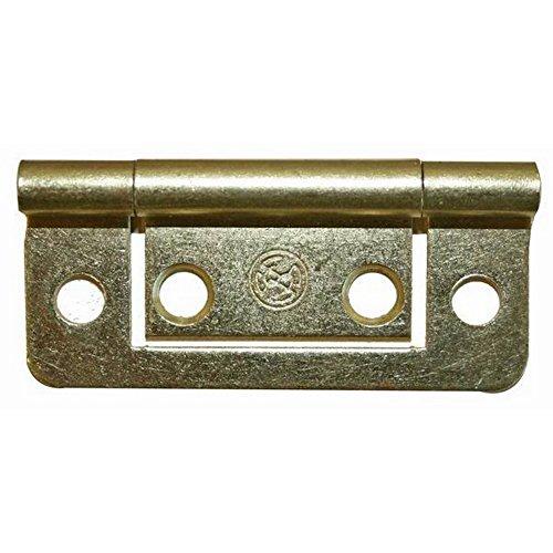 W4 Brass Schrank-Tür-Scharnier (Einheitsgröße) (Brass)
