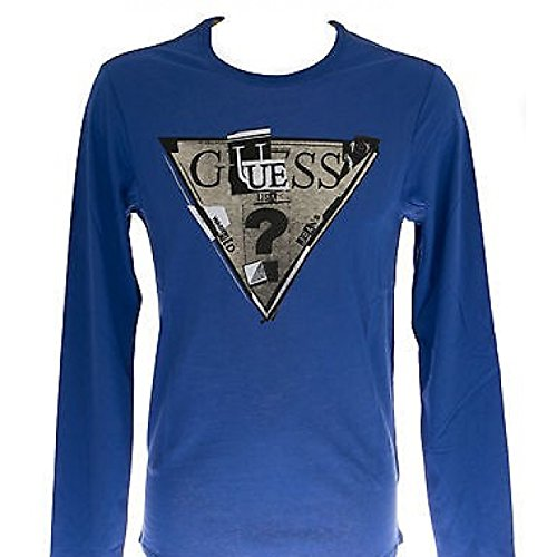 T-Shirt chemise homme GUESS a. M44I19 t. XS ch. A737 ASTRO bleu